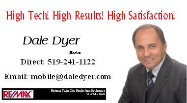 Dale Dyer, Realtor
